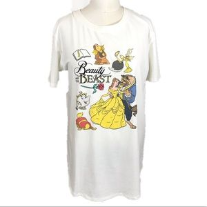 Beauty and the Beast White Top
